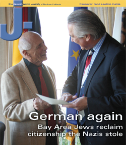 Leo Mark Horowitz and the German Counsul General
