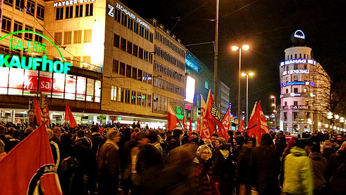Munich Pergida-Bragida and Anti Demonstration in Munich 4