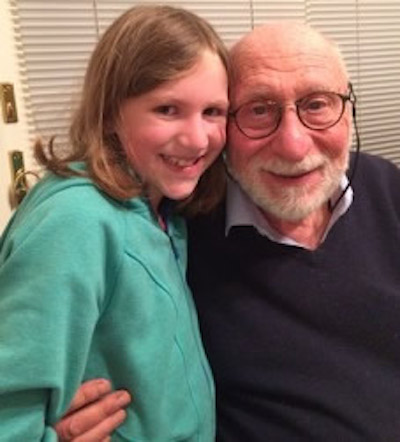 Dr. Moser and grandaughter Harper